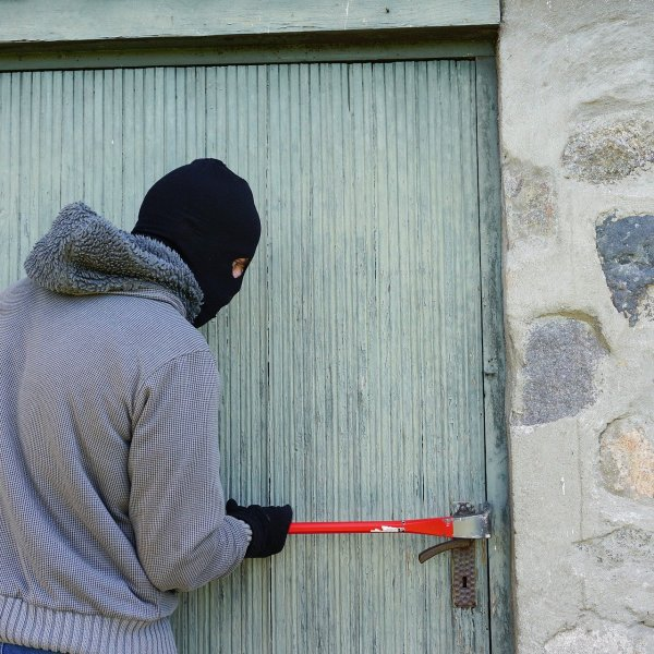 Is breaking and entering a home a crime?